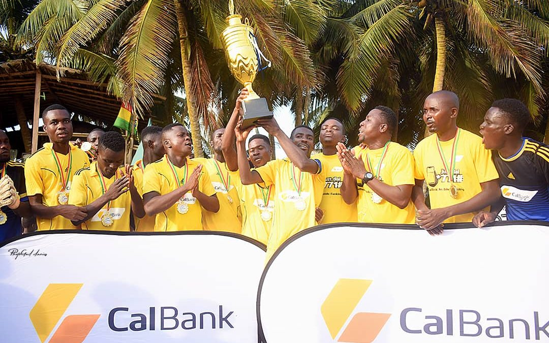 CalBank to the Rescue as official Sponsors pledge full support for Beach Soccer and the Black Sharks
